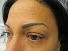 permanent cosmetic eyebrow procedure avon ma